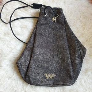 NWOT Victoria's Secret metallic backpack